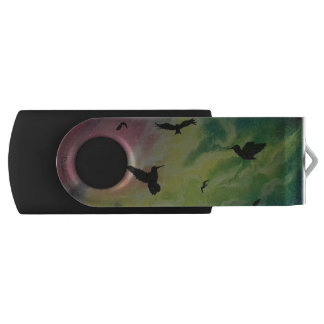 Heaven Of Birds USB Flash Drive