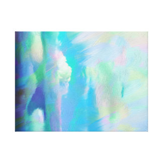 Heaven Pastels Wall Art Canvas Print