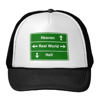 HEAVEN,REAL WORLD & HELL CAP