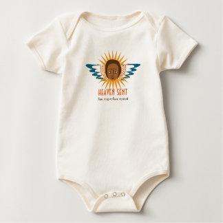 Heaven - Sent Baby Bodysuits