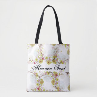 Heaven Sent Custom All-Over-Print Tote Bag