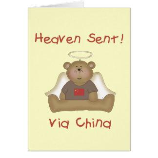 Heaven Sent via China Greeting Card