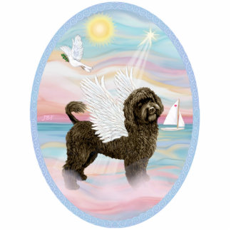 Heavengly Sea - Portuguese Water Dog (brown) Photo Cut Outs