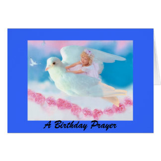 Heavenly Angel Birthday Card