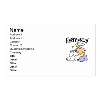 Heavenly Angel T-shirts and Gifts Pack Of Standard Business Cards