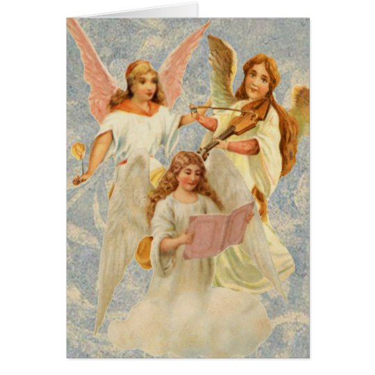 Heavenly Angels Easter Card
