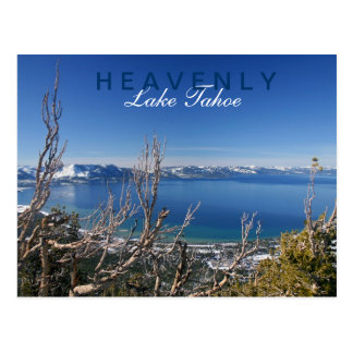 Heavenly at Lake Tahoe Postcard
