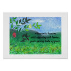 Heavenly Bamboo Poster