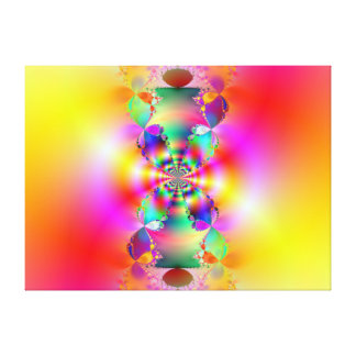 Heavenly Blossom Stretched Canvas Print