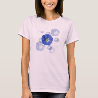 Heavenly Blue Morning Glory T-Shirt