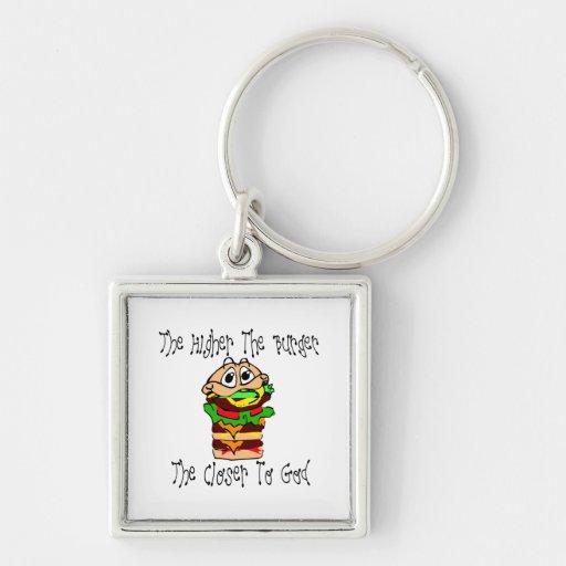 Heavenly Burgers Keychain