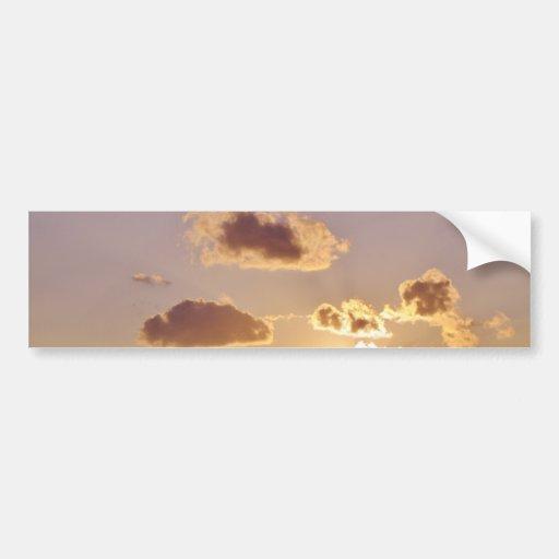 Heavenly Clouds Car Bumper Sticker
