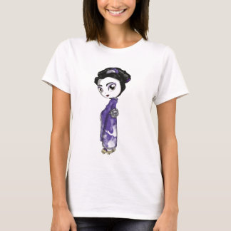 Heavenly Cranes Geisha T-Shirt