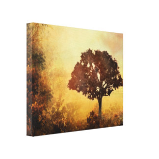 Heavenly Dawn Stretched Canvas Prints