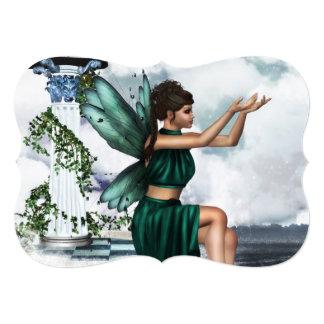 Heavenly Fairy 5x7 Paper Invitation Card