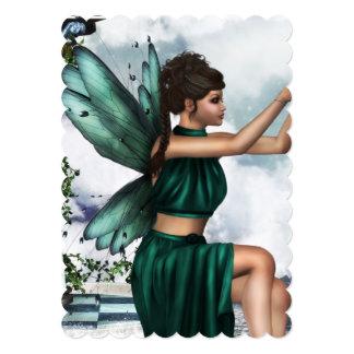 "Heavenly Fairy 5"" X 7"" Invitation Card"