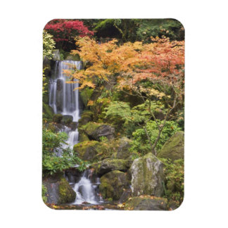 Heavenly Falls and autumn colors Rectangular Photo Magnet