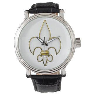 Heavenly Fleur De Lis Wrist Watches