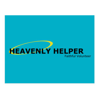 Heavenly Helper Post Card Postcard