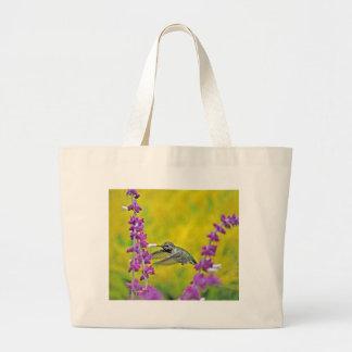Heavenly Hummingbird Jumbo Tote Bag
