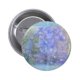Heavenly Hyacinths Button