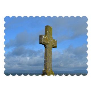 Heavenly 13 Cm X 18 Cm Invitation Card