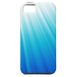 Heavenly Light Ombre white aqua blue iPhone 5 Cover