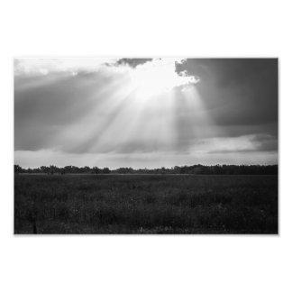 Heavenly Light Photo Print