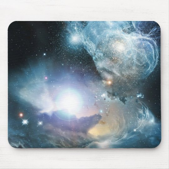 Heavenly Nebula Mouse Mat