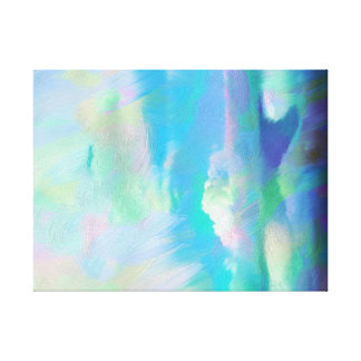 Heavenly Painting Wrapped Canvas Print
