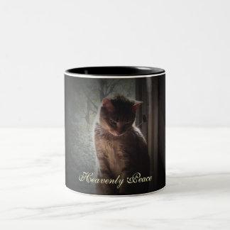 Heavenly Peace Two-Tone Coffee Mug