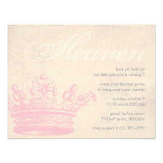 Heavenly Princess Invitations