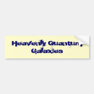 Heavenly Quantum Galaxies Bumper Stickers