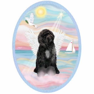 Heavenly Sea - Portuguese Water Dog #8 (1) Standing Photo Sculpture
