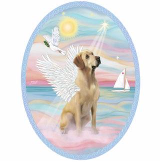 Heavenly Sea - Yellow Labrador Acrylic Cut Out