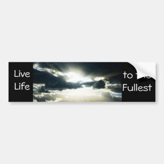 Heavenly Sky Daybreak Bumper Sticker