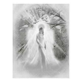 Heavenly Snow Angel Postcard
