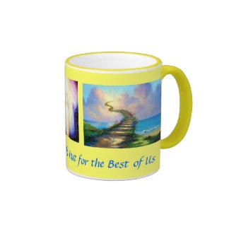 Heavenly Stairway Ringer Mug
