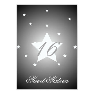Heavenly Star Sweet Sixteen-Customize Card
