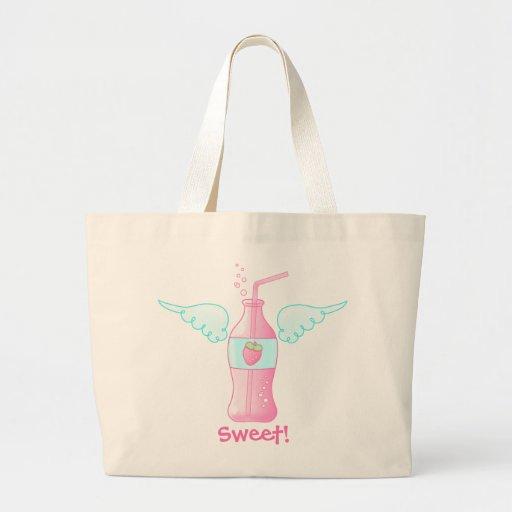 Heavenly Strawberry Soda Tote Bag