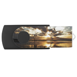 Heavenly Sunset 1 Swivel USB 3.0 Flash Drive