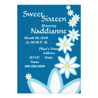 Heavenly Sweet Sixteen Invitation-Customize