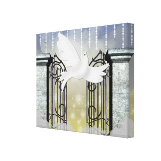 Heavenly Wrapped Canvas Gallery Wrapped Canvas