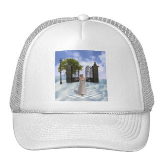 Heavens Angel Baseball Hat