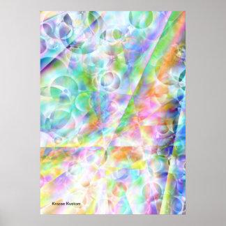 Heavens Bubbles Poster