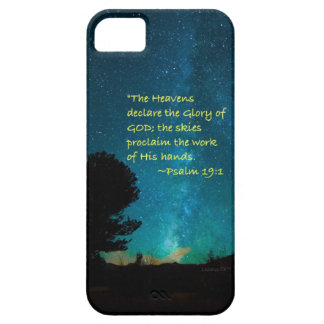 """Heavens declare"" iPhone 5 Case"