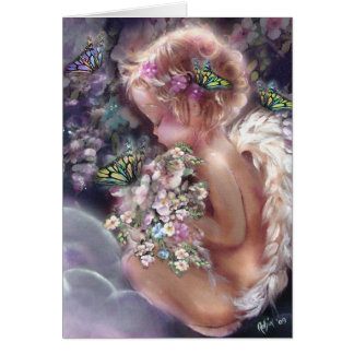 Heaven's Garden Angel Card