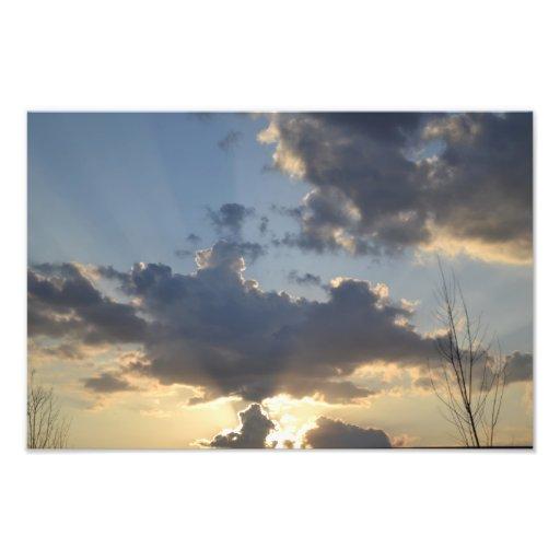 Heaven's Glory Photographic Print