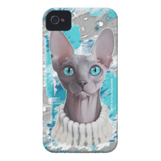 Heavens in the eyes (Sphynx cat) iPhone 4 Covers