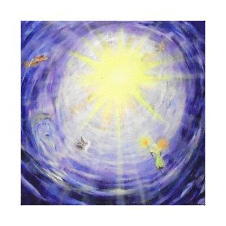 "Heaven's Light -24"" x 24"" Gallery Canvas"